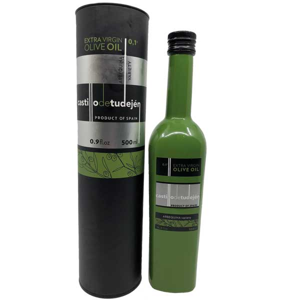 500 ml extra virgin olive oil bottle with gift box
