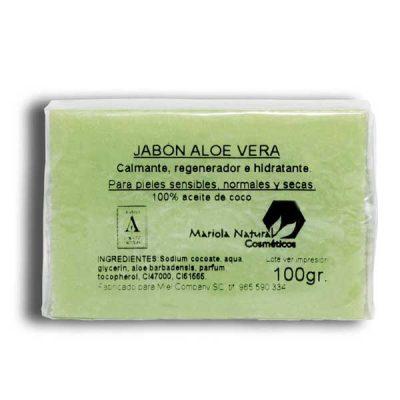 Aloe vera soap 100 gr from Spain